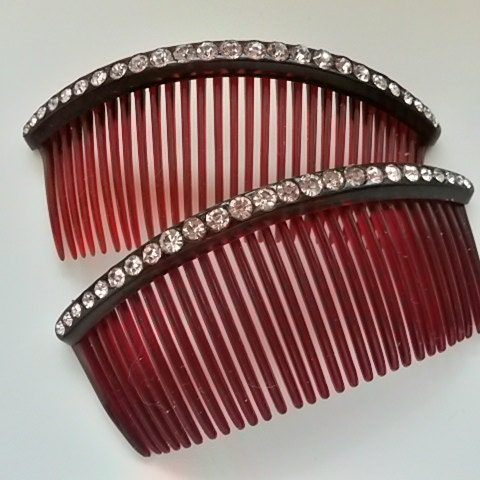 VintageForAges - Vintage Jewelry, Wedding Combs, 1950s Dresses