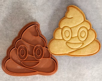 Poo Emoji Cookie Cutter