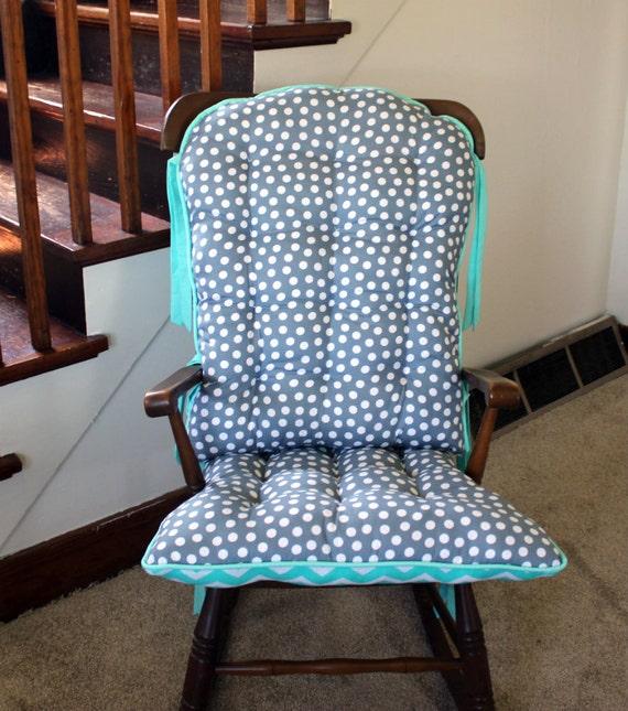Dot Rocking Chair Cushions, Glider Replacement Pads, Rocker Cushions ...