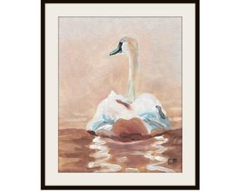 Swan - Original Painting