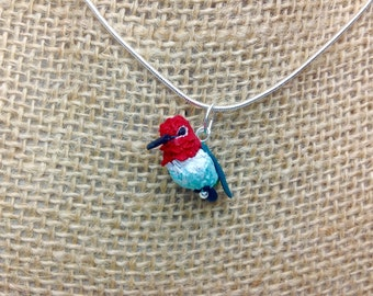Anna's Hummingbird Necklace
