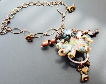 Treasure Octopus Necklace