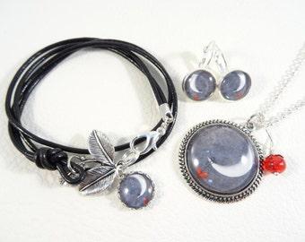 Jewelry set 'Moon'