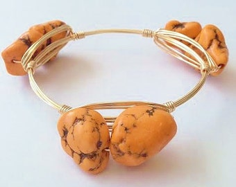 Orange-ya-glad Bangle