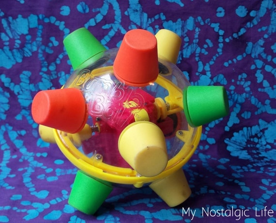 Bumble Ball Toy : Vintage bumble ball motorized bouncing toy ertl co