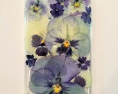 iPhone 6 Plus Silicone Pansy Case