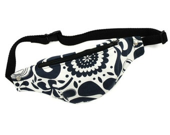 Fanny pack pattern, festival bag, belt bag, bike bag - PDF sewing pattern and tutorial, instant download - t001