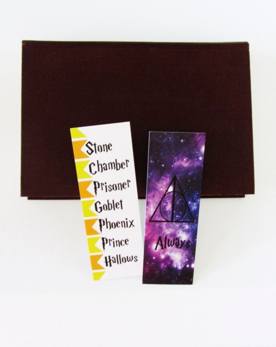 Harry Potter Book Gift Set ~ Set of harry potter bookmarks book club gift bookmark