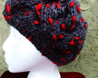 Cabled Winter Hat