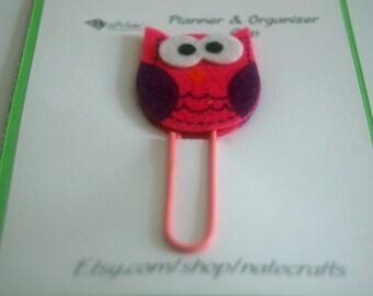 Owl Planner Clip