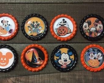 Halloween Mickey Bottle Cap, Bottle Caps