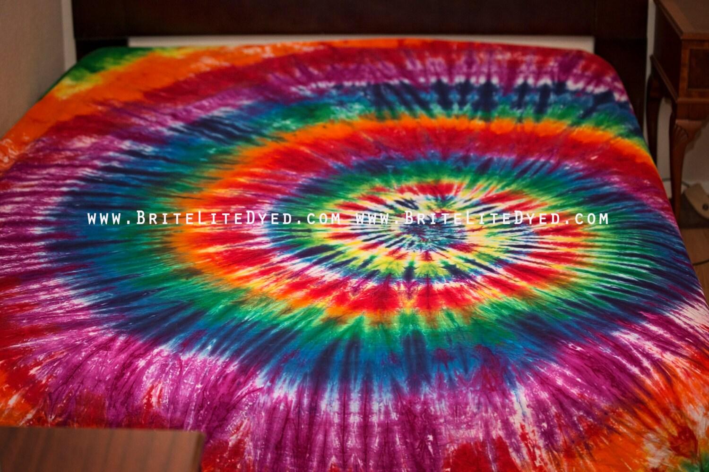 tie dye sheets hippie bedroom tye dye rainbow sheets