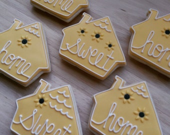 Home Sweet Home sugar cookies(12)