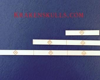 X Wing Numbered Range Stick Set