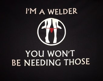 Welder Panty dropping shirt