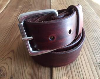 Classic Leather Belt - Built to last a lifetime