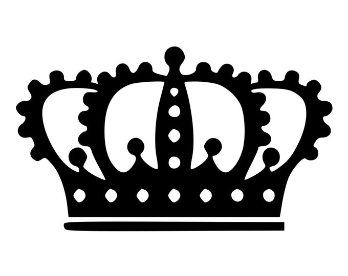 Black queen crown