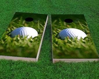 Golf Cornhole Etsy
