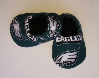 Philadelphia Eagles baby shoes - crib shoes, baby slippers
