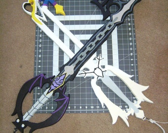 Kingdom Hearts Keyblade Commission for Oblivion and Oathkeeper (Combo sale)