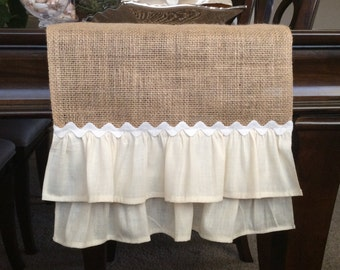 Exceptional Burlap Table Runner,Table Runner, Table Topper, Wedding Table Runner,  Natural Table