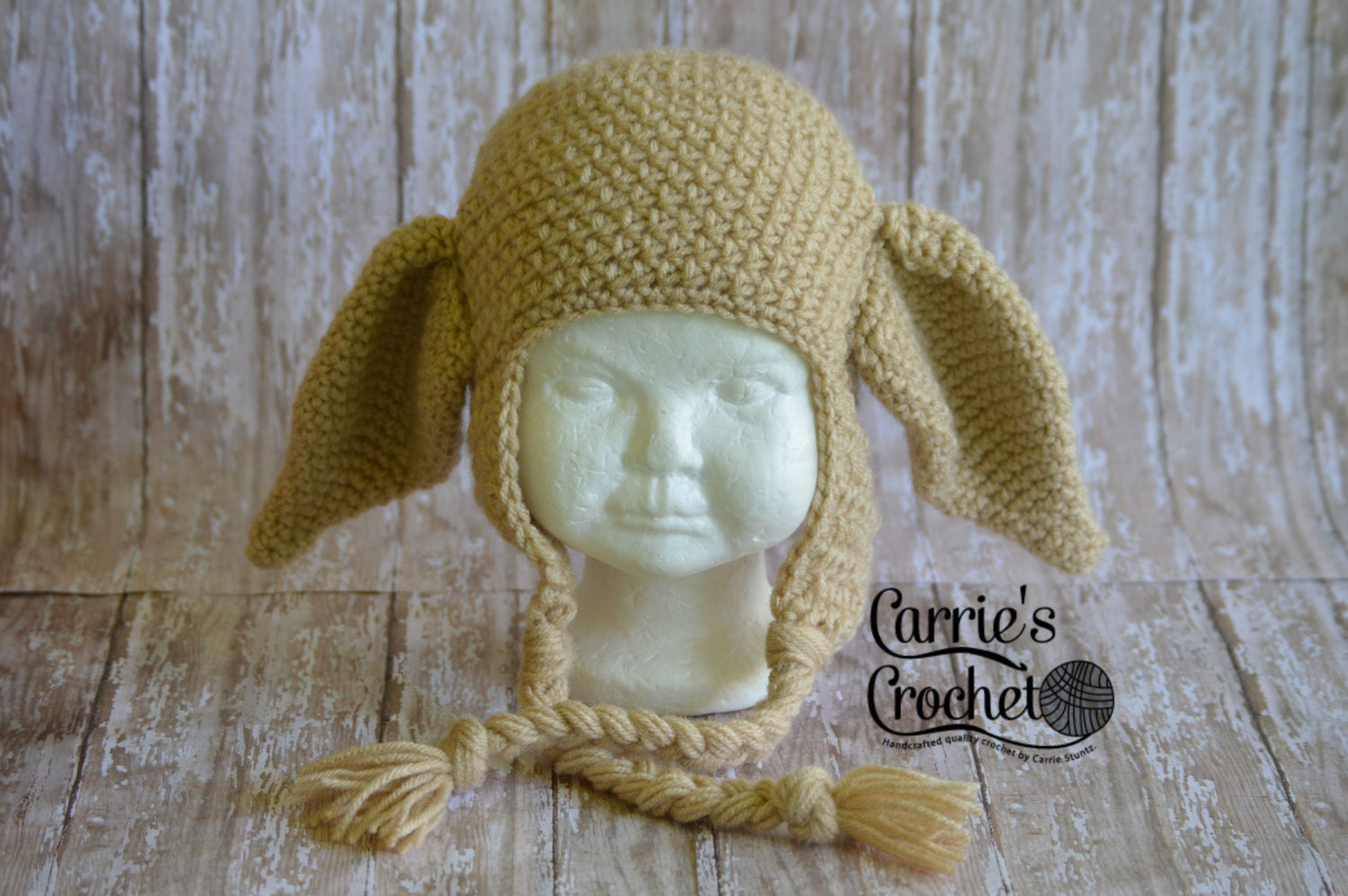 Crochet Dobby the House Elf Hat Best Seller