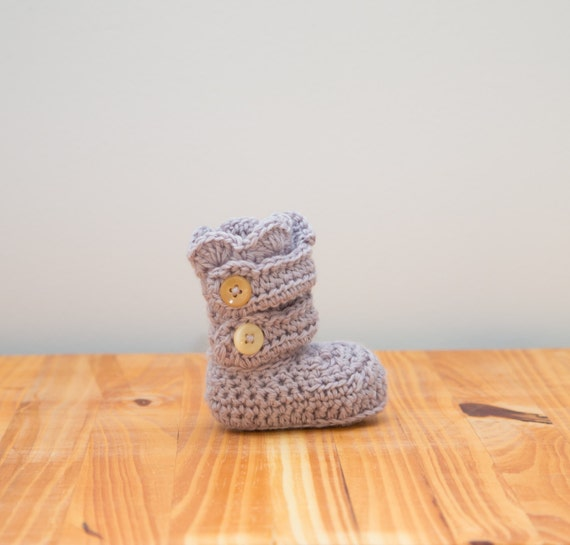 Baby Crochet Bootie's/Crib Shoes