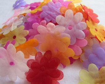 Organza Flowers