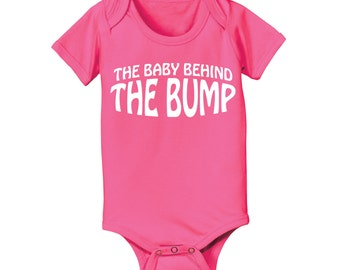The Baby Behind The Bump Baby One Piece CL0141