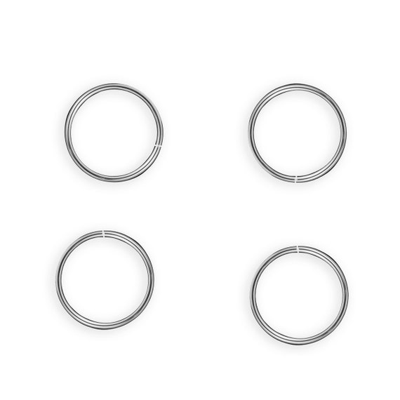20pcs wholesale 925 sterling silver open jump rings by