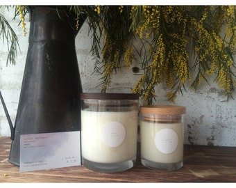350g wooden lid candle