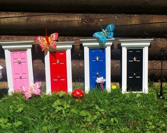 My Fairy Door - available in red, pink, blue and black