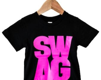 Swag - Pink Kids Tee