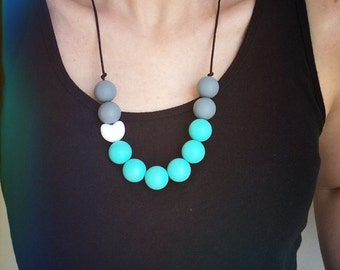 Silicone Teething Necklace - Cutie Pie Petite