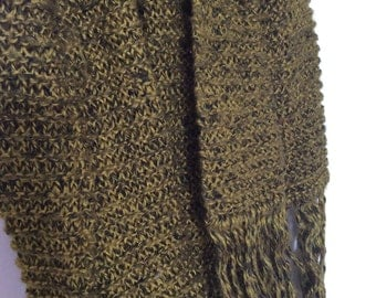 Earthy Green Over Sized Scarf