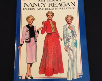 Vintage Nancy Reagan Paper Dolls