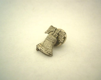 Vintage Liberty Bell Lapel Pin Souvenir - Made in Philadelphia! Item #17