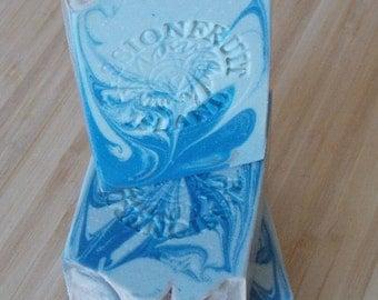Blue Swirl Soap|Vegan|Artisan handmade soap|Cold Process Soap