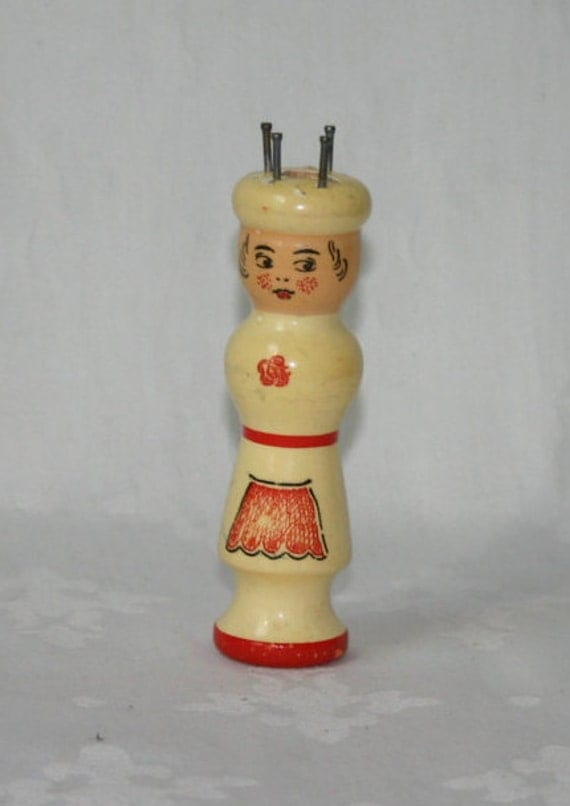 Knitting Nancy Vintage : Vintage french knitting doll nancy by brocanteyvette