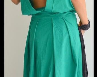 Maxi long dress / Loose Long Dress / Oversize dress/ Woman Loose dress / Open back dress/Sleeveless dress