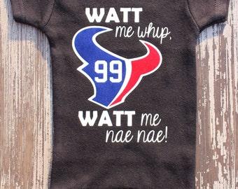 WATT me whip, WATT me nae nae! (Onesie)