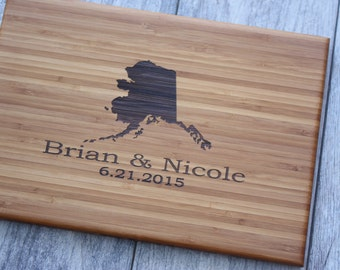 Housewarming Gift, New Home Gift, Personalized Cutting Board, Cutting Board, Closing Gift, Engraved Cutting Board, Custom Cutting Board