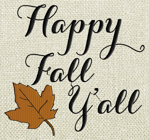 Ridiculous image pertaining to happy fall yall printable
