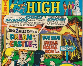 Archie Comic Series No  29, Cat# 06966 Oct 1975 Archie at Riverdale High