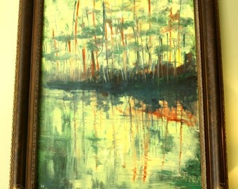 An original oil painting of Ennerdale