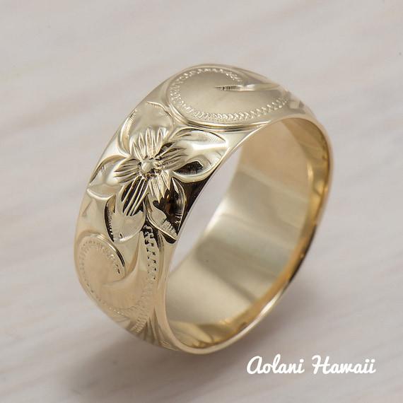Traditional Wedding Gifts Hawaii : Traditional+Hawaiian+Wedding+Gift 14K Gold traditional Hawaiian Hand ...