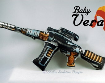 Baby Vera plush gun-perfect for Mini Jayne's! This plush replica of Jayne Cobbs precious Vera is cuteness overload Firefly & Serenity Fans!