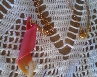 Handmade necklace-curly Handmade necklace ringlet