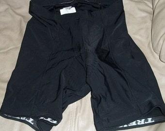 SALE Womens Trek Black Cycle Cycling Biking Compression Shorts xl