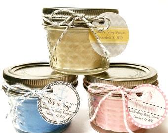 Wedding Favor Candles Mason Jar Favors By BowAndArrowCandleCo